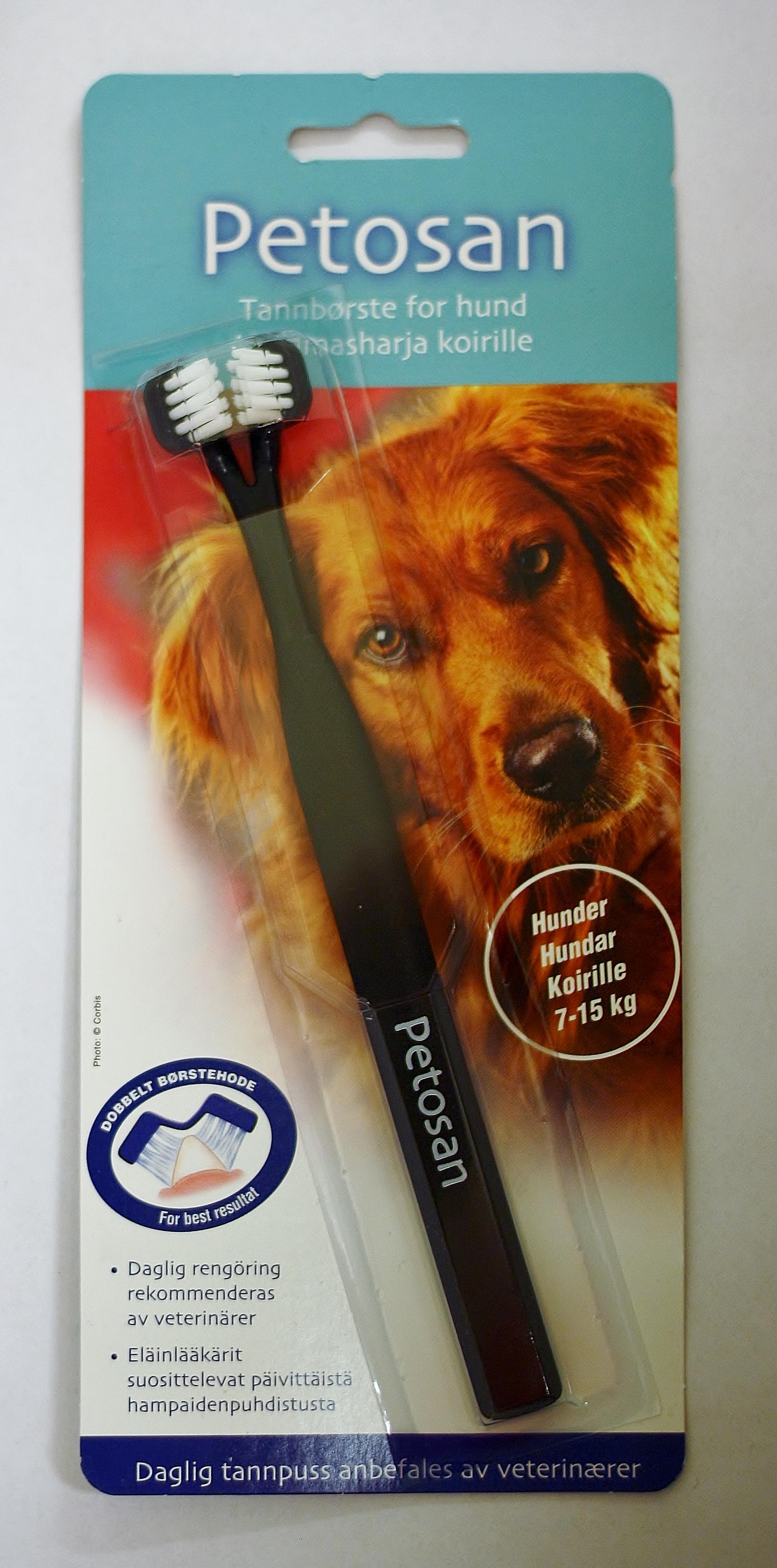 Petosan tandborste medium 7-15 kg • Köp på Djurfarmacia Apoteket Trollet 6fff6e6432aac
