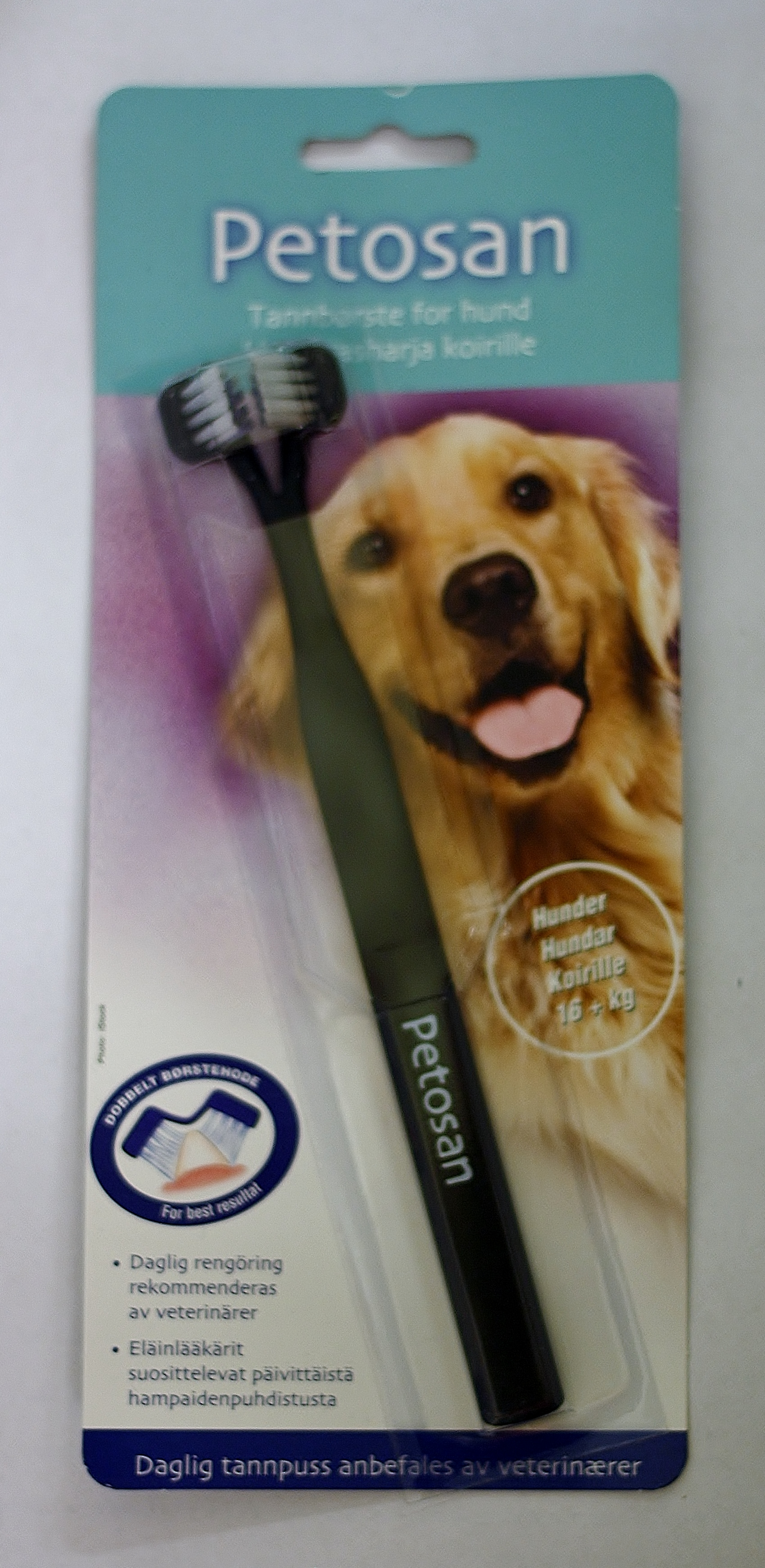 Petosan tandborste för hund large 16+ kg. • Köp på Djurfarmacia ... 4e613d9c1af6b