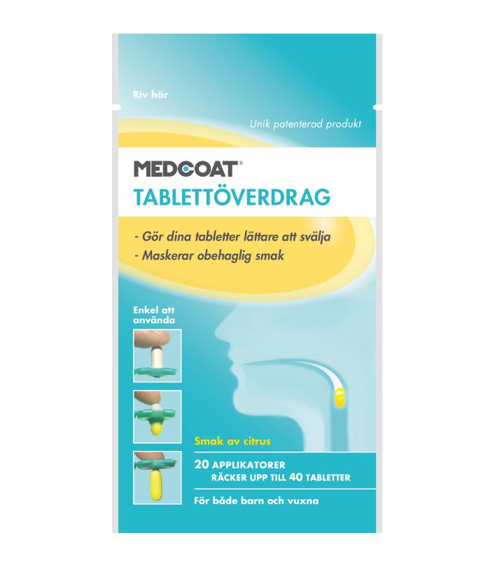 56124bea Medcoat Tablettöverdrag 20 applikatorer • Köp på Djurfarmacia ...
