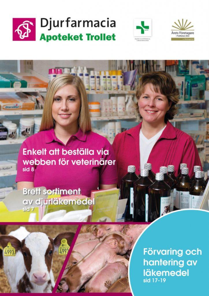 Omslag Djurfarmacia tidning 2015
